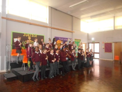 ... a big thank you to Mr Jolly and Mr Wright from the Tameside Music Service as they have both worked incredibly hard to make the concert such a success. & Gallery | St Anneu0027s RC Primary u0026 Nursery School